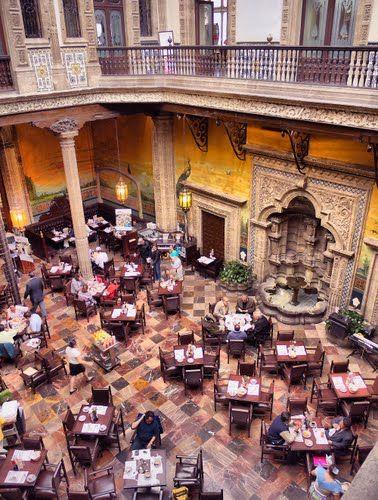 Restaurante La Casa De Los Azulejos México D F