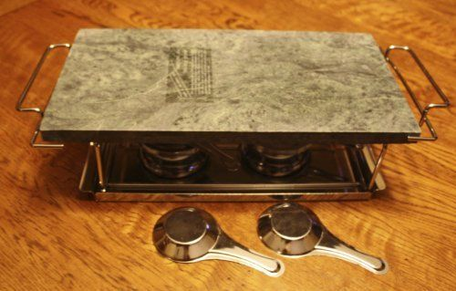 Eurita Hot Stone (Healthy Fondue) by Reston Lloyd. $39.99. Hot Stone Cooking - Entertain - Healthy Fondue. Hot Stone Cooking - Great way to entertain - Healthy way to entertain (fondue live without oils)