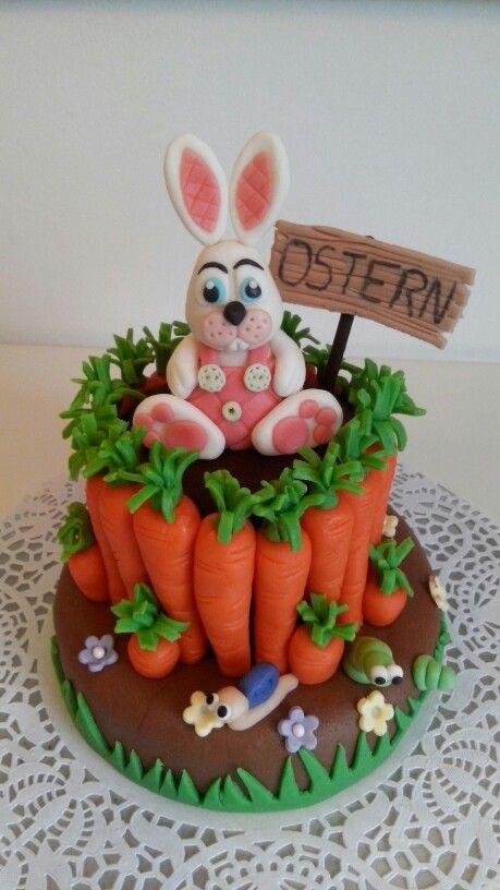 Oster Torte Torten Dekorieren Ostern Motivtorte