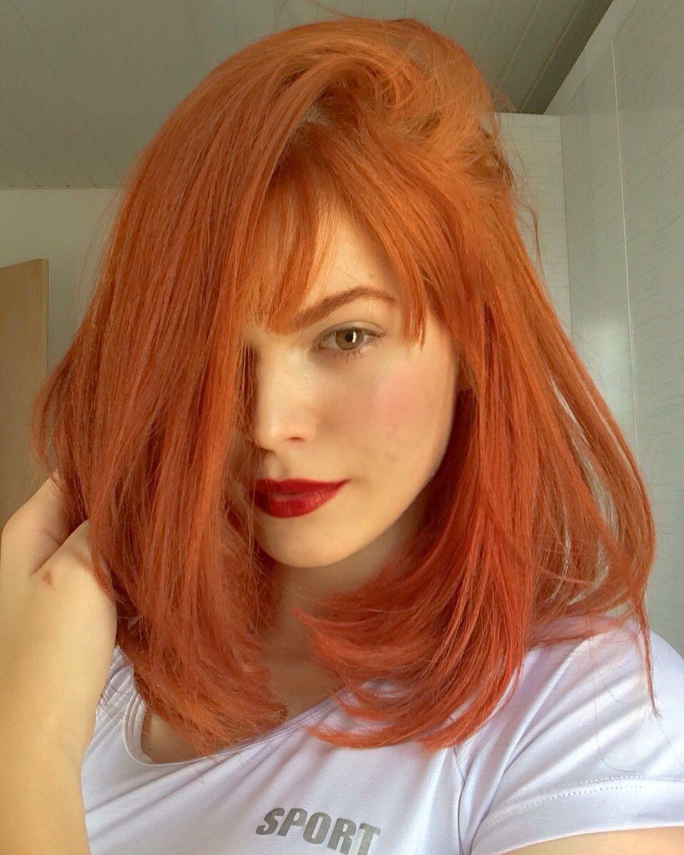 Pin De Trixii En Hair Cabello Color Zanahoria Cabello Anaranjado Cabello Rojo Cobrizo Restriégalas con un cepillo para verduras, si es posible. cabello color zanahoria cabello