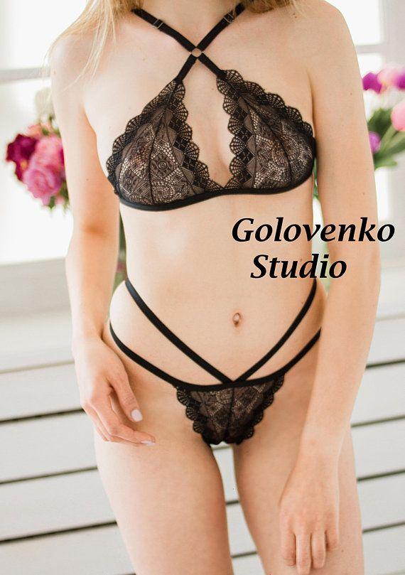 d640ac1156 Black lace lingerie