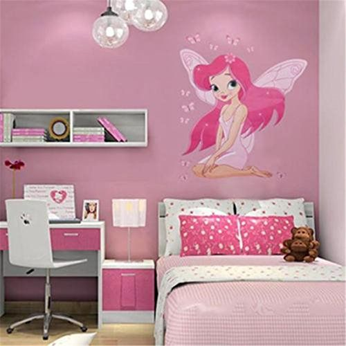 OrliverHL Girls Baby Fairy Princess Butterfly Decal Kids Room Wall Stickers  Bedroom Decors ** Continue Part 58