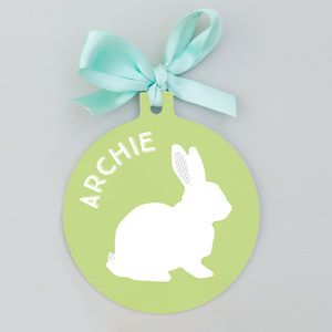 Personalised easter decoration opt for your choice of name and personalised easter decoration opt for your choice of name and colour for a cute little negle Images