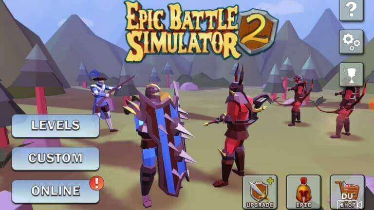 epic battle simulator mod apk unlimited gems