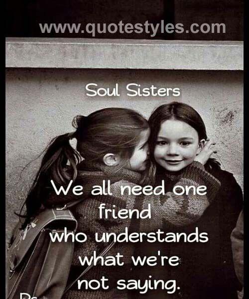 Soul Sister Friendship