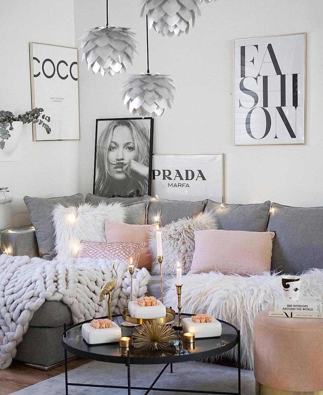 pingenta on house interior  living room decor