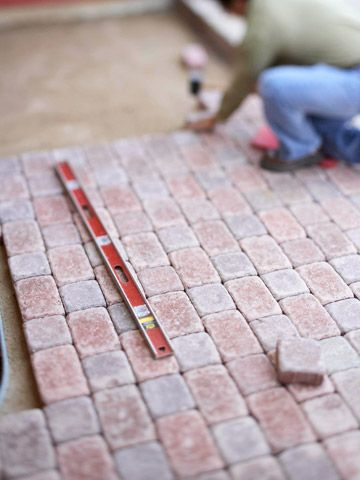 How to install a paver patio patios foundation and concrete pavers redo your patio with our estimated costs httpbhghome improvementpatioinstallation how todiy paver patiosocsrcbhgpin060214patiocostspage solutioingenieria Images