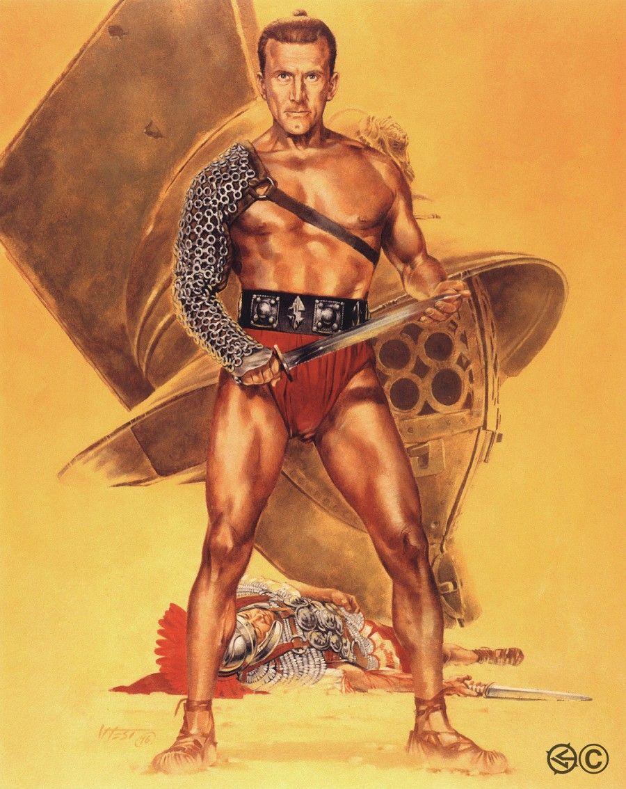 Laurence olivier spartacus quotes - Kirk Douglas As Spartacus