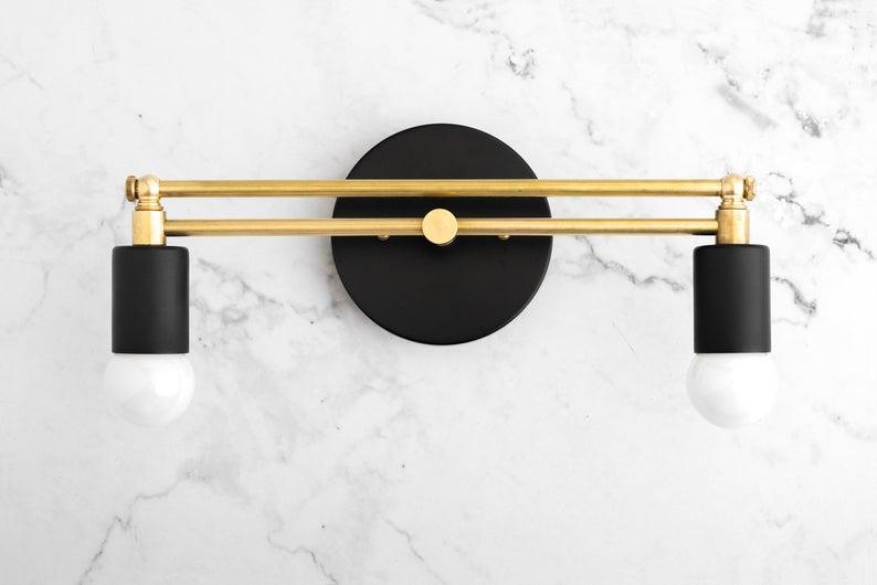Art Deco Vanity - Bathroom Vanity - Modern Lighting ...