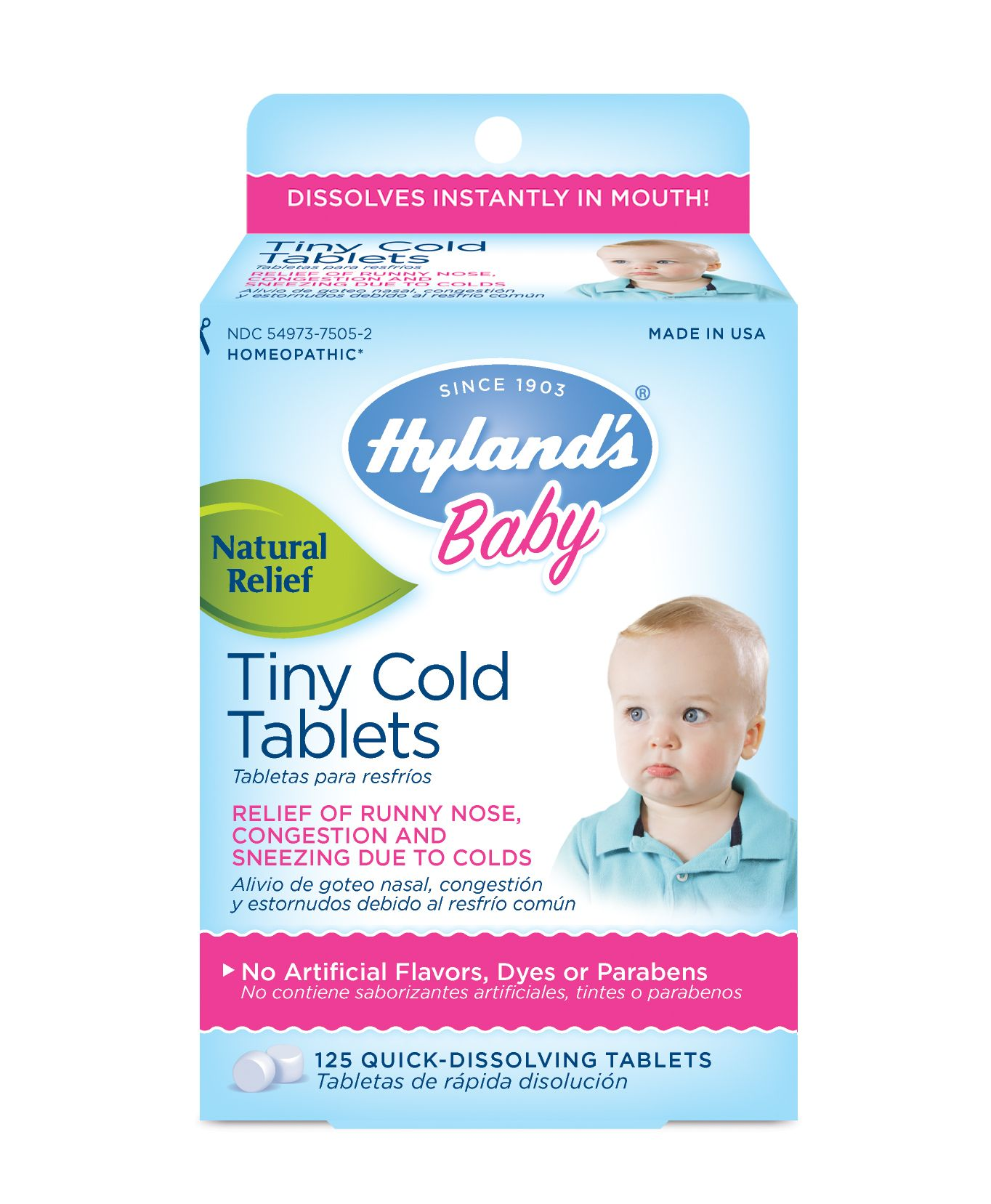 Hyland S Baby Tiny Cold Tablets Helped Dry Up My Baby S Runny