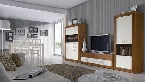 Resultado De Imagen De Muebles Salon Blanco Y Madera Muebles Salon Blanco Muebles Salon Muebles