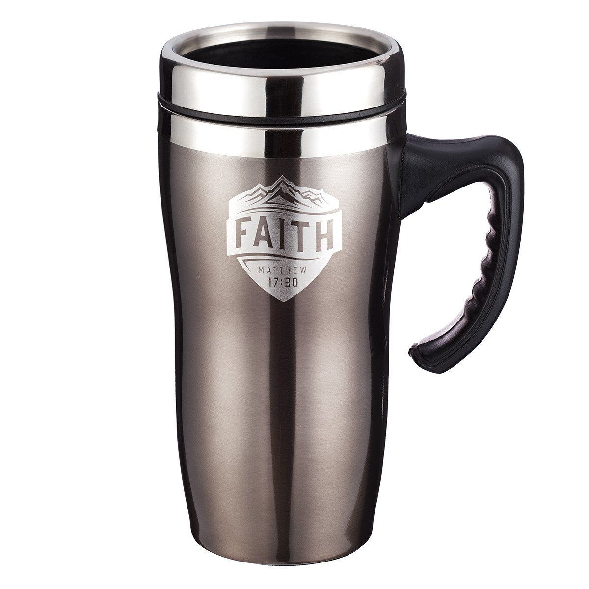 Faith Matthew 1720 Stainless Steel Travel Mug