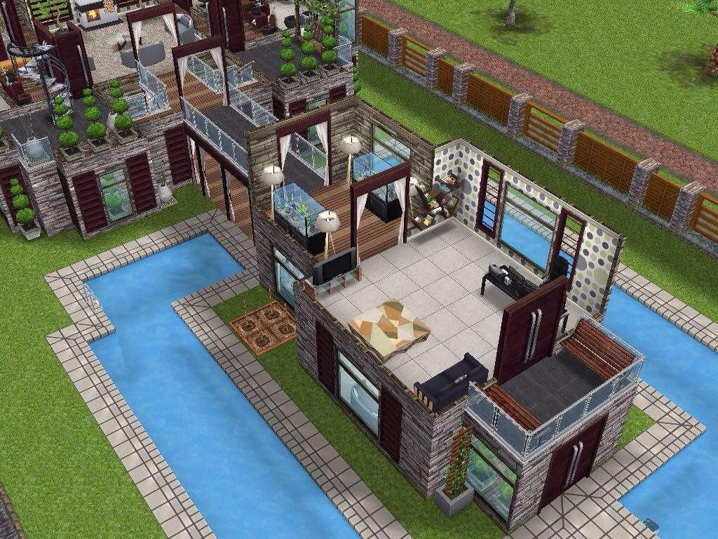 house 66 level 2 sims simsfreeplay simshousedesign - Sims 4 Home Design 2