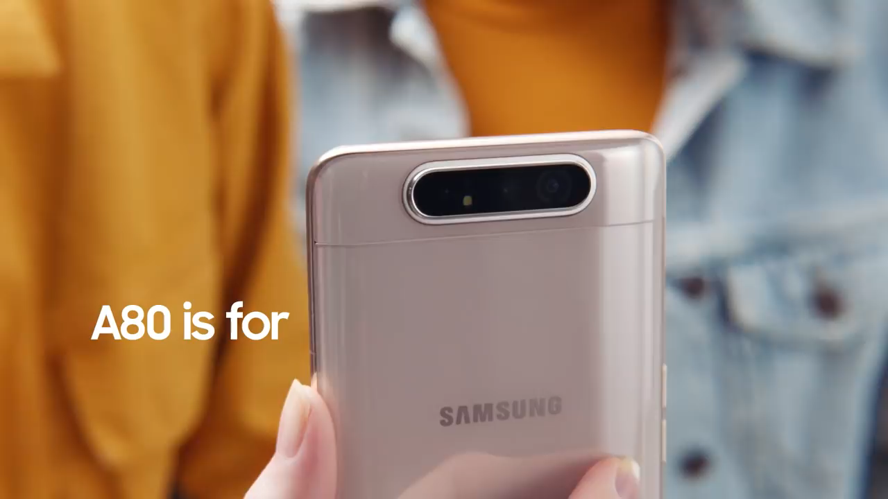Samsung A80 Official Video Samsung Samsung Galaxy Galaxy