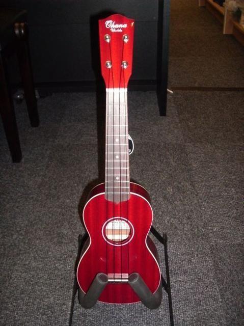 ohana sk15rd soprano ukulele mahogany red uke love ukulele ukulele for sale ukulele pictures. Black Bedroom Furniture Sets. Home Design Ideas