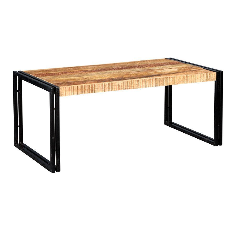 Borough Wharf Sidney Industrial Coffee Table  | furniture universe uk