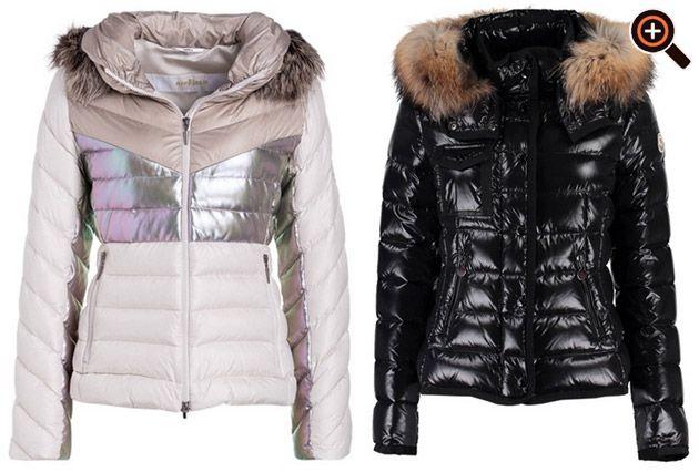 Damen Daunenjacke – Designer Winterjacke als Anorak, Parka