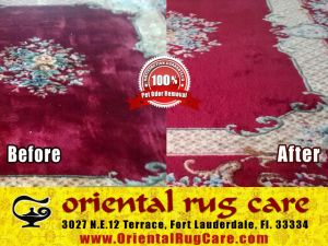 Oriental Rug Cleaning Service in Homestead