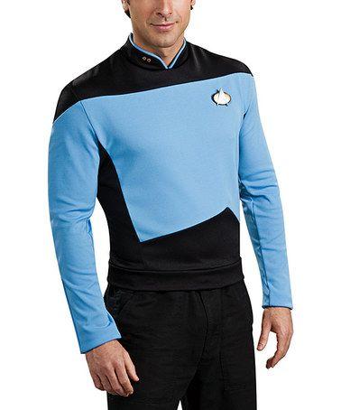 Look at this #zulilyfind! Deluxe Star Trek Science Officer Shirt - Men #zulilyfinds