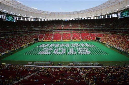 apertura de la copa confederaciones 2013