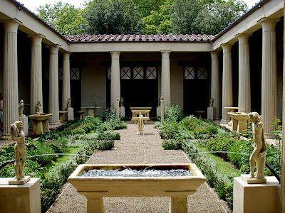 Romano impero: il giardino romano roma pinterest roman roman