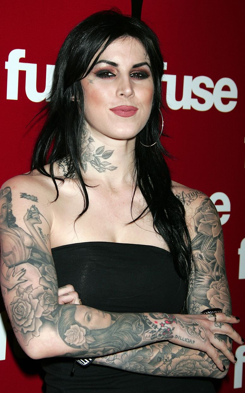 Tattoo Girl Von - Kat von d robert hernandez y ami james tres ejemplos de lo que digo arm tattoos for girlstattoos