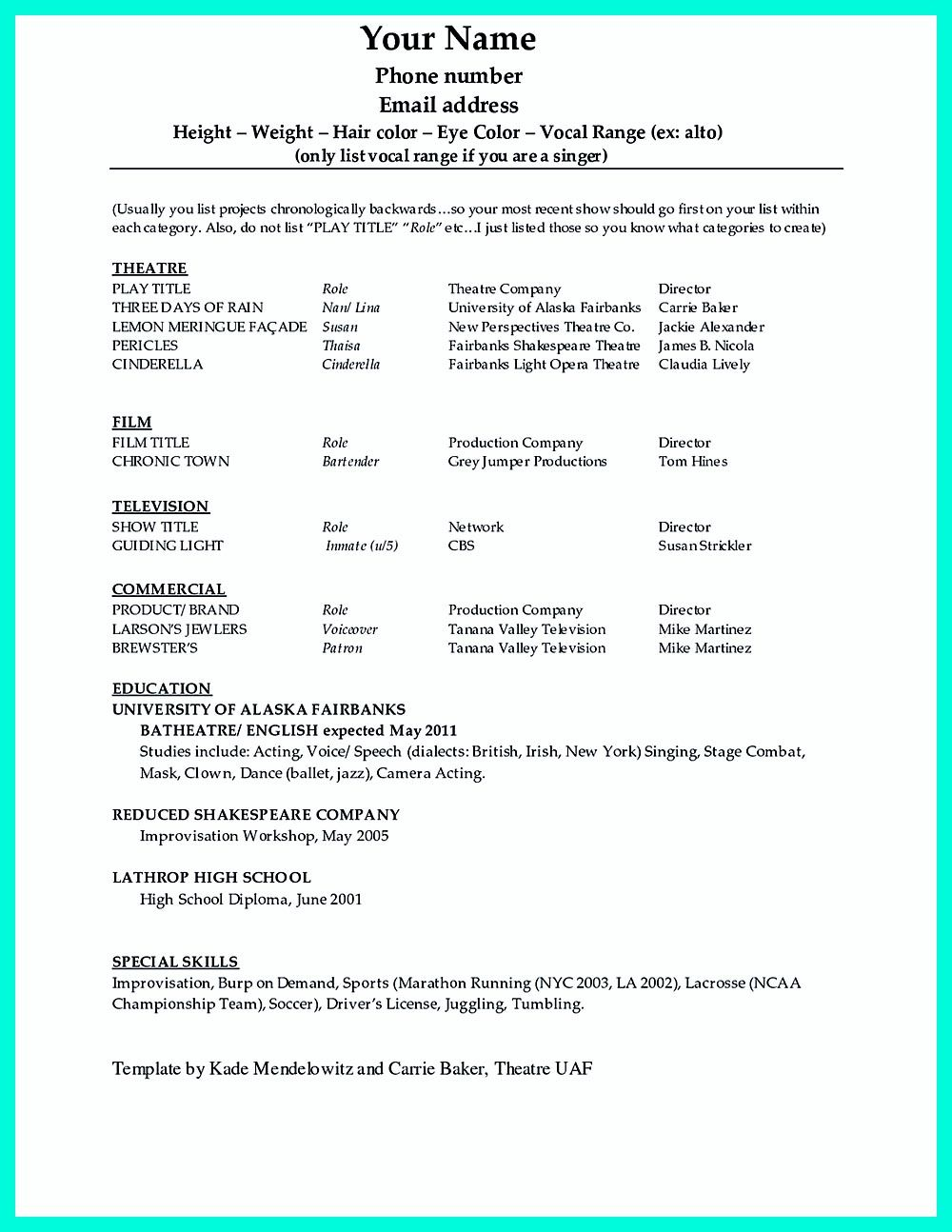 Pin On Resume Sample Template And Format In 2018 Pinterest