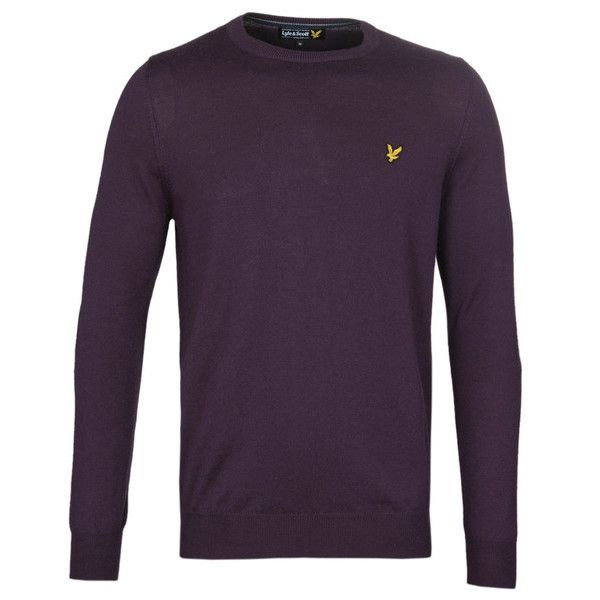 NEW LYLE AND SCOTT LONG SLEEVE JUMPER FOR MEN