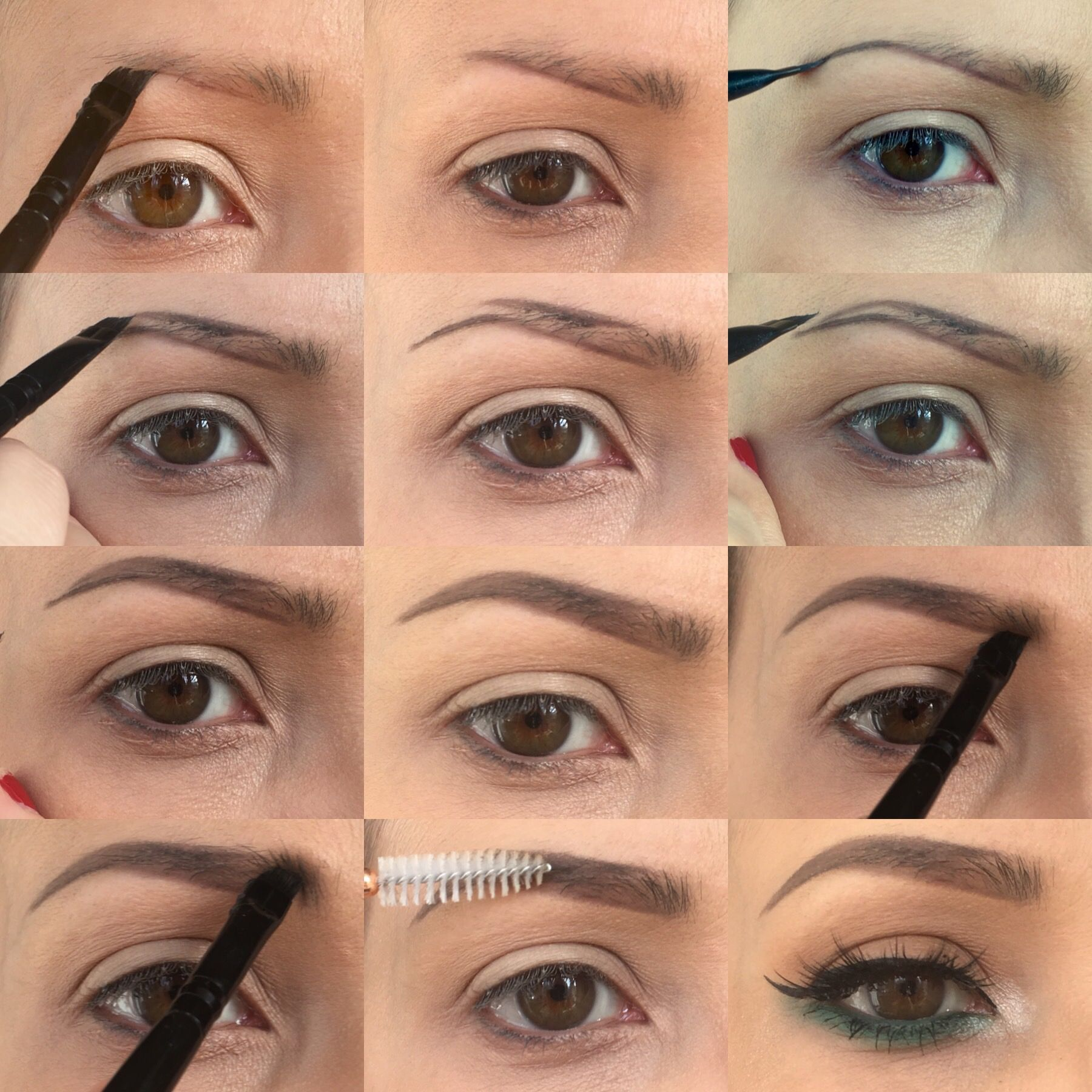 Brow pictorial tutorial step by step make up application brow pictorial tutorial step by step baditri Images