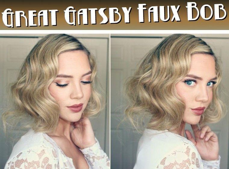 unechte bob frisur inspiriert von gatsby frisuren ausprobieren