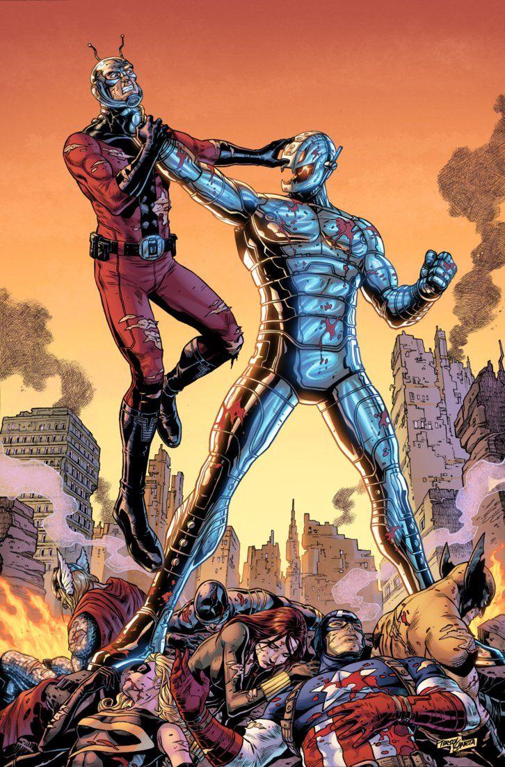 Antman vs Ultron by J-Skipper on DeviantArt   Marvel Comics ...