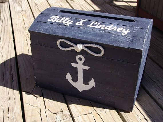 Personalized Navy Blue Nautical Themed By