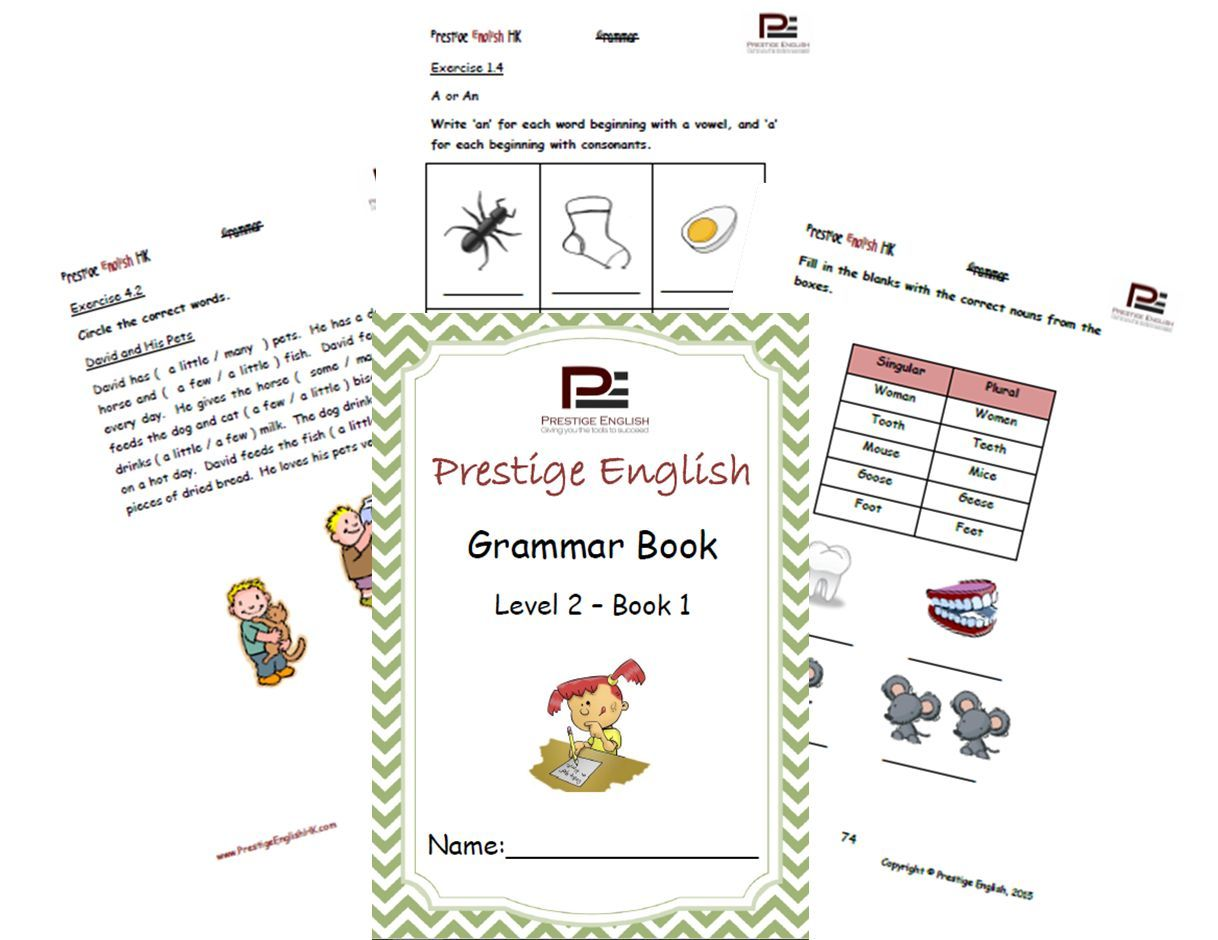 English Grammar Book Level 2 Book 1