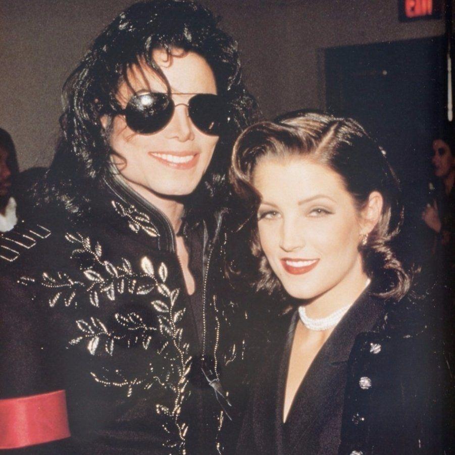 Lisa Marie Presley with Michael Jackson | Lisa marie ...