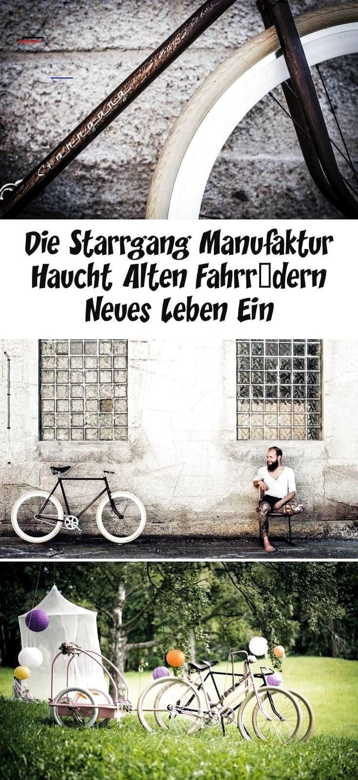 : Die Starrgang Manufaktur haucht alten Fahrrdern neues Leben ein #Die #Starrgan