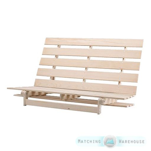 Details About Wooden Futon Base Frame 1 Seater Single And 2