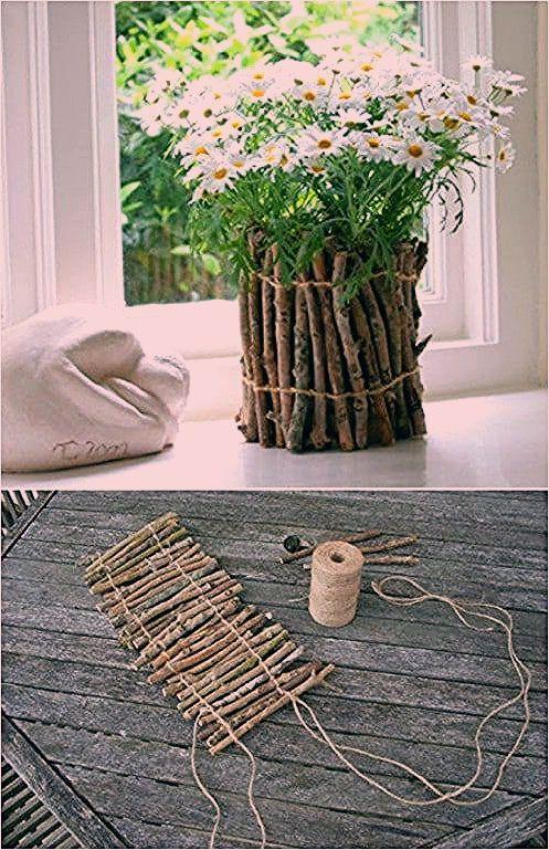 25 billig und einfach DIY Haus und Garten-Projekte mit Sticks und Zweige - Diy Deko Garten