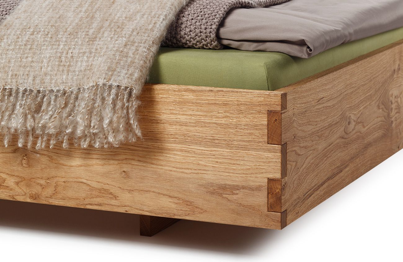 bett nap massivholz polsterbett 140x200 diy betten bett bett 140x200 und polster. Black Bedroom Furniture Sets. Home Design Ideas
