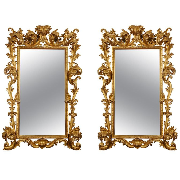 1stdibs - Fantastic pair of 18th century giltwood mirrors explore items from 1,700  global dealers at 1stdibs.com