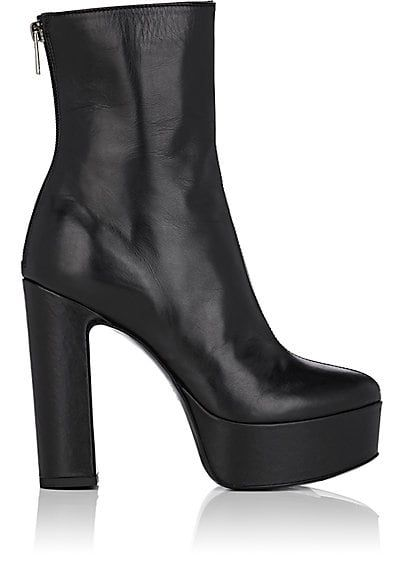 70a752412e6 We Adore: The Leather Platform Ankle Boots from Barneys New York at ...