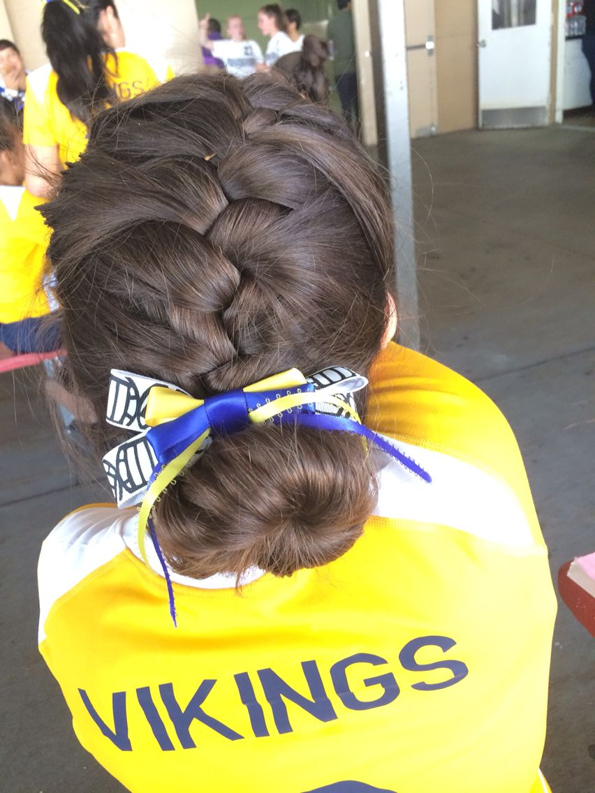 Volleyball hairstyle sporty hairstyles pinterest volleyball