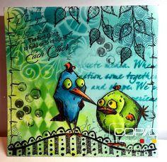 Copic Marker Benelux: Crazy Birds