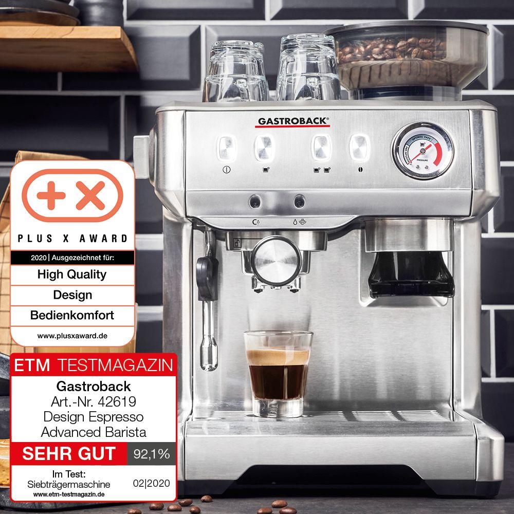 Testurteil Sehr Gut In 2020 Barista Espresso Espresso Maschine