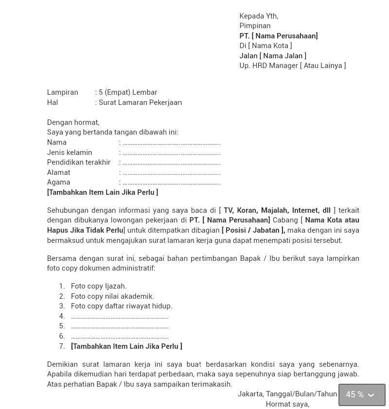 Ben Jobs Contoh Surat Lamaran Kerja Kepala Toko Surat Tulisan Riwayat Hidup