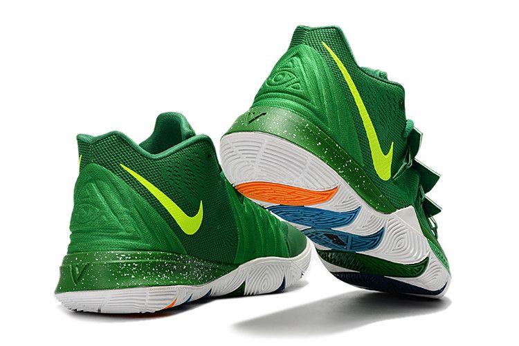 3cb3ed362fe Buy Nike Kyrie 5 Green Volt-White Basketball Shoes Online in 2019 ...