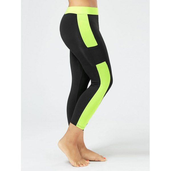 ae34d9ede2ade Wholesale Plus Size Two Tone Workout Leggings With Pockets 3xl Black  Online. Cheap Plus Size Skirt And Plus Size Christmas Hoodies on  Rosewholesale.com