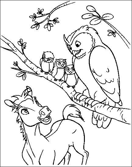 Spirit the Horse Coloring Pages  Back to Coloring pages spirit