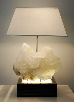 Raw crystal lamp rocks nature and shit like that pinterest raw crystal lamp mozeypictures Gallery