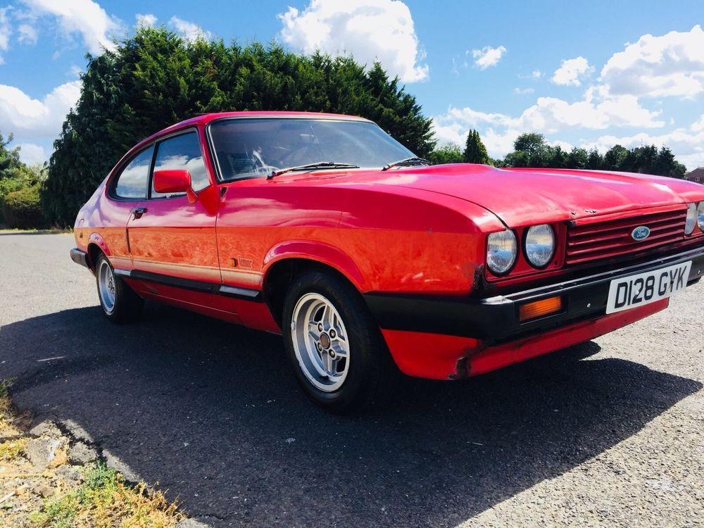 Ebay 1987 Ford Capri Drive This One Home New Mot Cars 1980s Ford Capri Ford Capri