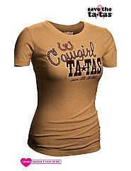 Cowgirl Tatas Plus Size Tee by SWAK Designs